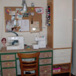 My New Sewing Space