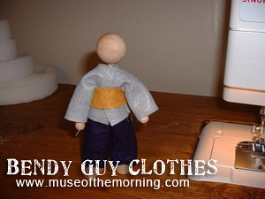 clothing for bendy rope people from Muse of the Morning