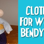 Bendy Guy or Acorn Doll Clothing