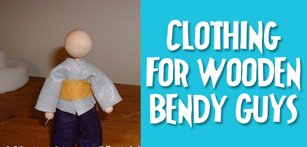 Bendy Guy or Acorn Doll Clothing Tutorial from Muse of the Morning