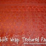Bubble Wrap Textured Paper