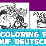 Coloring Pages Auf Deutsch