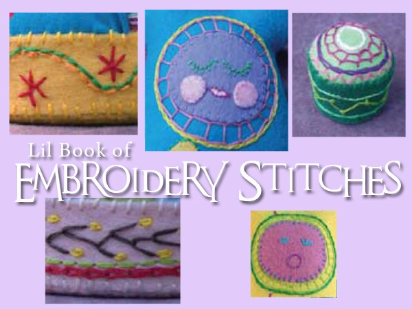 Lil Book of Embroidery Stitches - free printable from Muse of the Morning