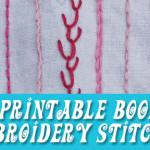 Free Printable: Lil' Book of Hand Embroidery Stitches – pocket size stitch guide