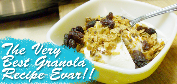 The best granola recipe EVAR! From Muse of the Morning