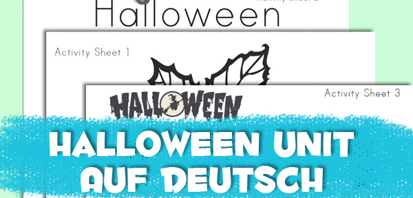 Halloween Unit Study - auf Deutsch - from Muse of the Morning