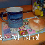 An I-Spy Mug Mat Tutorial