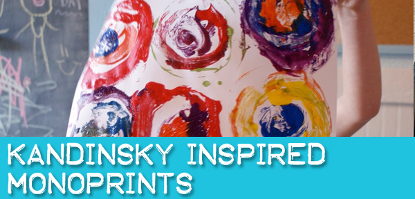 Make Kandinsky Inspired Monoprints with Muse of the Morning