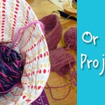 Knitting or Crochet Project Bag Tutorial