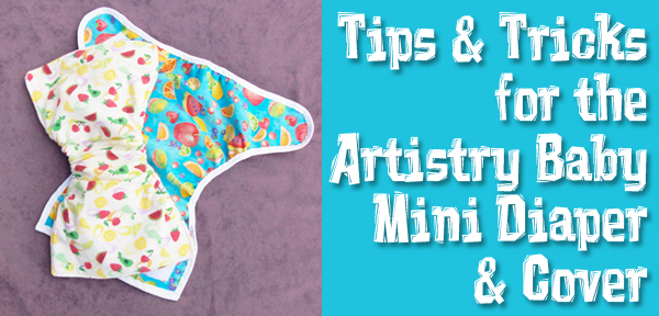 Some tips for Sewing the Mini Diaper & Cover Pattern from Muse of the Morning