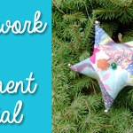 Stuffed Star Ornament