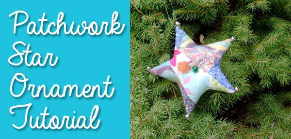 Stuffed Star Ornament Tutorial from Muse of the Morning