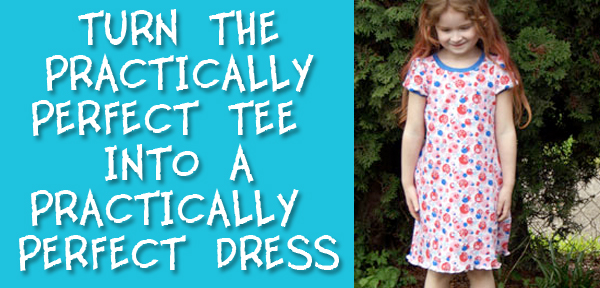 Turn the Practically Perfect Tee into a Practically Perfect Dress from Muse of the Morning