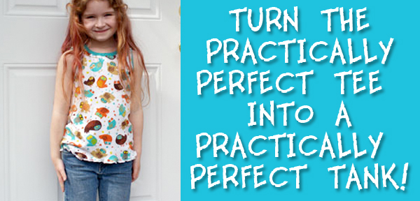 Turn the Practically Perfect Tee into a Practically Perfect Tank Top from Muse of the Morning