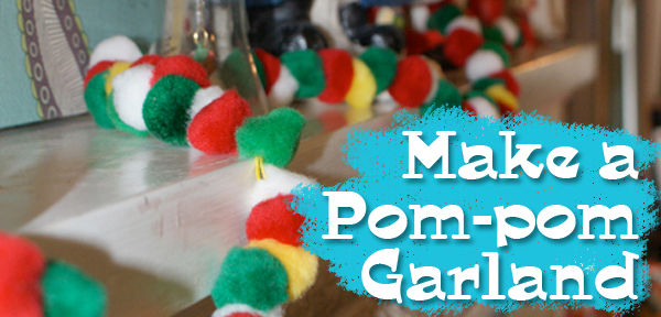 Make a Pom-pom Garland with Muse of the Morning