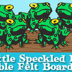Free Printable: Five Little Speckled Frogs
