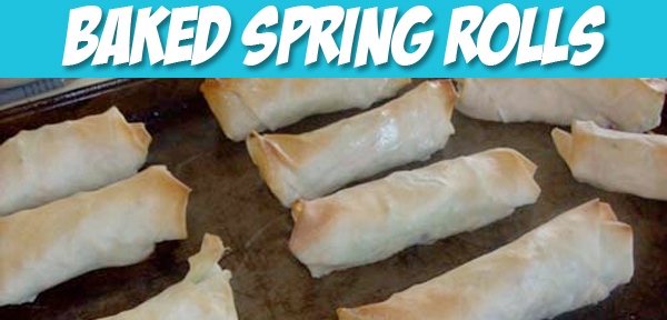Baked Spring Rolls Recipe from Muse of the Morning