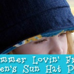 Free Pattern: Summer Lovin' Children's Sun Hat Pattern