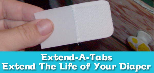 Learn how to make extend-a-tabs to extend the life of your diaper covers! From Muse of the Morning