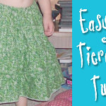 Make An Easy Tiered Skirt With Gathering Done On Your Serger