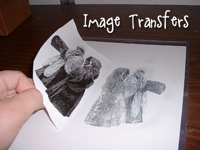 How To Make Image Transfers from Muse of the Morning