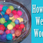 Wetfelting Wool Beads