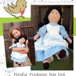And she's here! Prudence's pattern is ready for sale!
