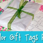 Handmaking The Holidays: Watercolor Printable Gift Tags