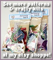 Muse of the Mornings Artistry Shoppe of Whimsy craft kits, felt kits, stuffed toys, dolls, sewing patterns