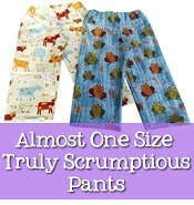 one size pants, patchy pants, bloomers sewing pattern