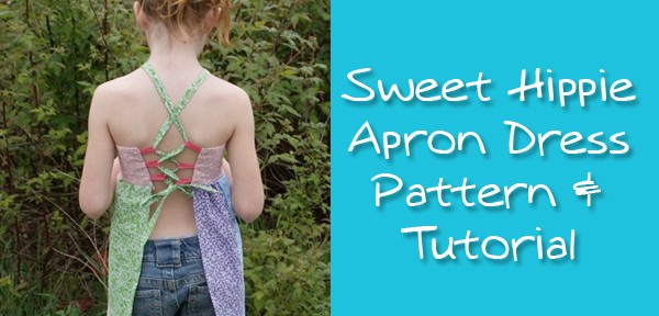 Sweet Hippie Apron Dress Pattern & Tutorial from Muse of the Morning
