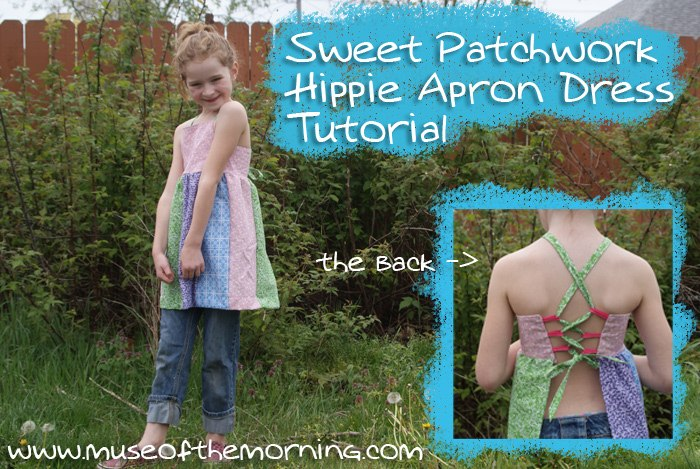 Sweet Hippie Apron Dress Tutorial and Pattern from Muse of the Morning