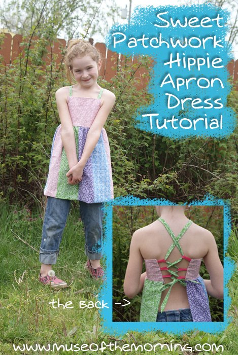 Sweet Hippie Apron Dress Pattern Tutorial Muse Of The Morning
