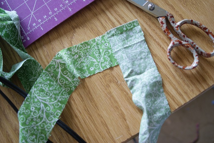 How To Make Bias Tape tutorial on Muse of the Morning