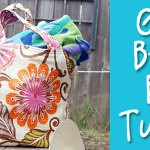 Make a Big Beautiful Beach Bag! – Tutorial