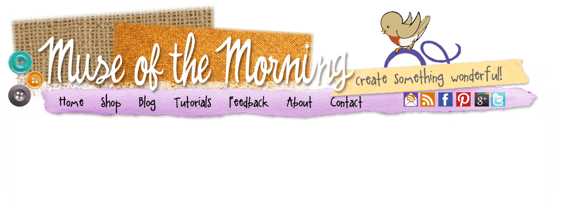 Muse of the Morning sewing patterns, crafty kits and fun crafty inspiration