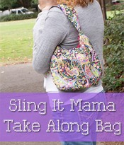 sling bag, purse sewing pattern