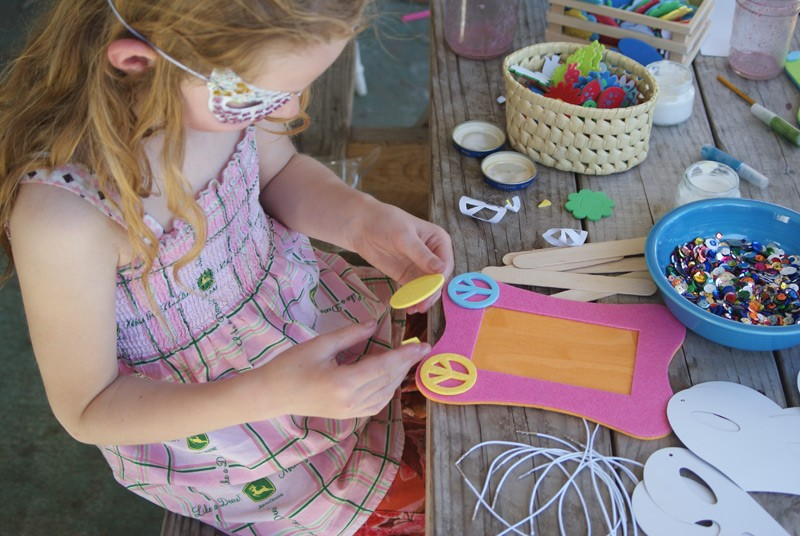have a girly crafty party with Muse of the Morning #summerofjoann