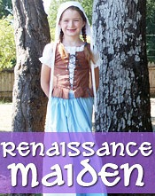 Renaissance Maiden PDF sewing pattern