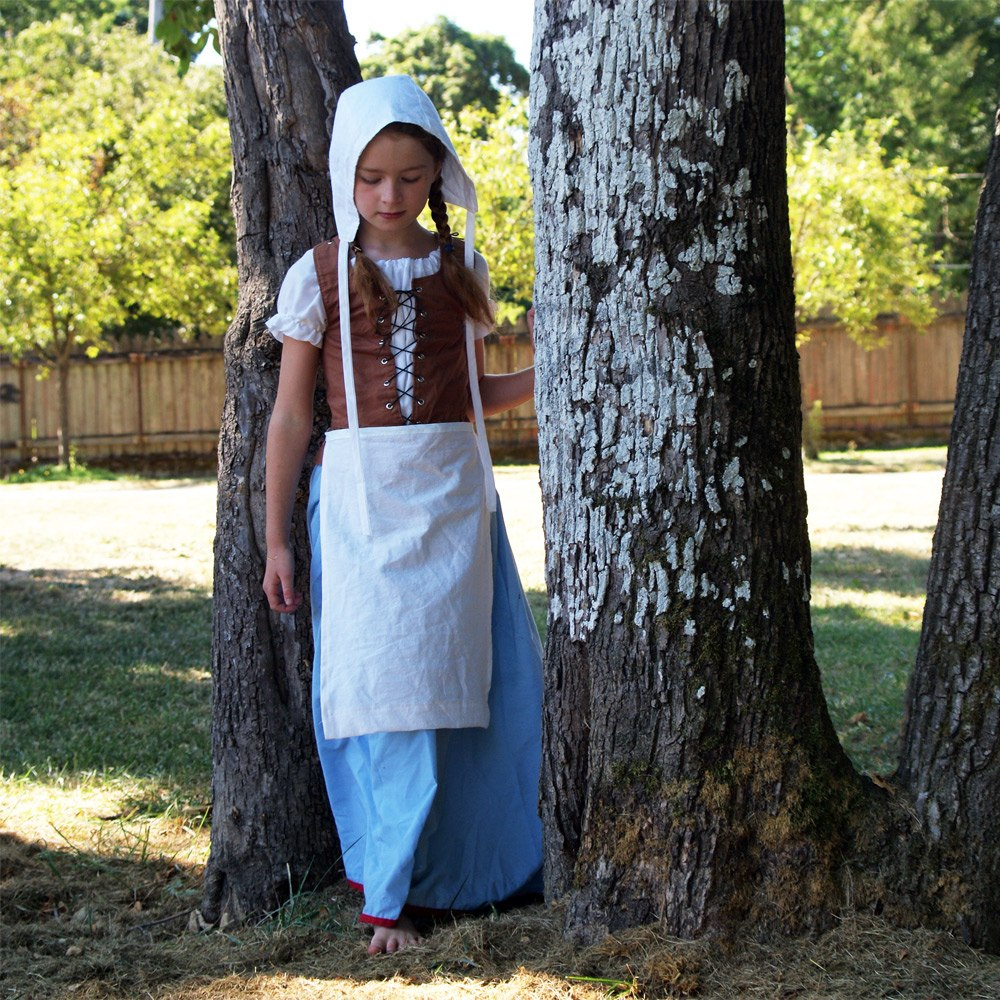 Renaissance Maiden outfit PDF pattern from Muse of the Morning