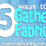 5 Ways to Gather Fabric