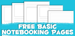 Free Basic Notebooking Pages from Muse of the Morning