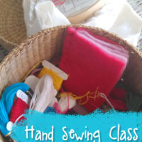 hand-sewing