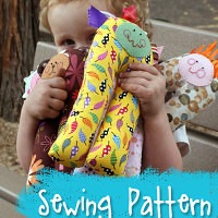 Pant-A-LoOoOns Soft Toy Sewing Pattern from Muse of the Morning