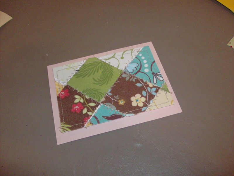 Make Patchwork Greeting Cards with Muse of the Morning