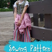 Renaissance Maiden Complete Outfit Sewing Pattern from Muse of the Morning