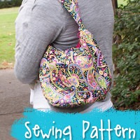 Sling It Mama Simple Purse Sewing Pattern from Muse of the Morning