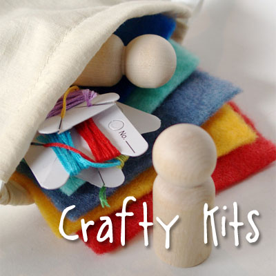 purchase hand created crafty kits from Muse of the Morning on etsy!