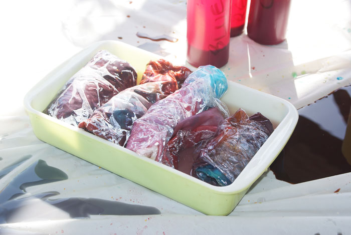 Dyeing silk scarves with Kool-Aid: A tutorial from Muse of the Morning