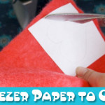 Tutorial: How to Use Freezer Paper to Cut Wool Felt